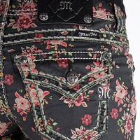 Miss Me Floral Stretch Short - Women's Shorts   Buckle