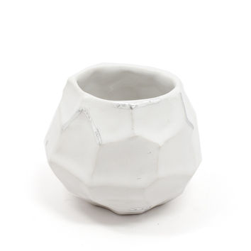 Faceted Vessel