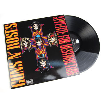 Guns N' Roses: Appetite For Destruction (180g) Vinyl LP