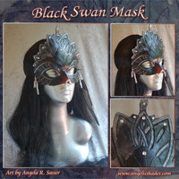 Swan Lake Ballerina Black Swan Queen Mask