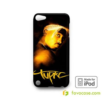 TUPAC SHAKUR 2Pac  iPod Touch 4 5 6 Case