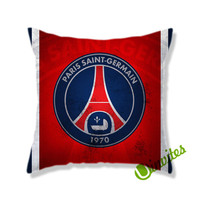 Paris Saint Germain Logo Square Pillow Cover