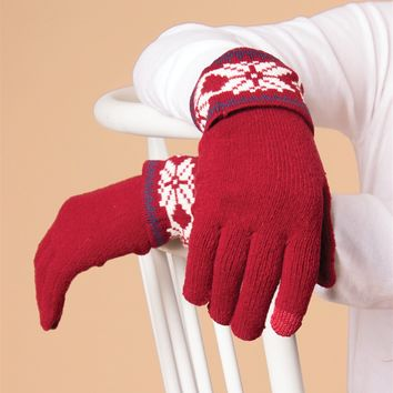 Snow it All Gloves by Simply Noelle