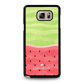 KATE SPADE WATER MELON Samsung Galaxy Note 5 Case Cover