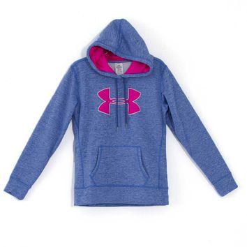 Under Armour Storm Armour Fleece Big Logo Twist Hoodie for Women 1263537-591