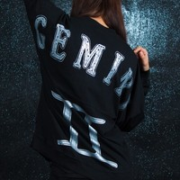 Gemini - Astrology Collection - Light Weight Spirit Jersey® with Ribbed Hem