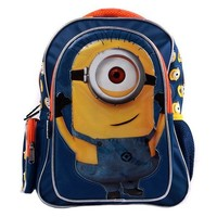 Despicable Me 2 Minions 3D Cartton Toddler Girls' Boys' Backpack School Bag -A