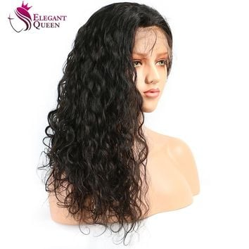Brazilian Water Wave Lace Front Human Hair Wig