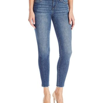 Joe's Jeans Women's Midrise Rolled Skinny Ankle Jean, Sinclair, 25