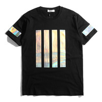 HOLOGRAM BARS HOCKEY T-SHIRT