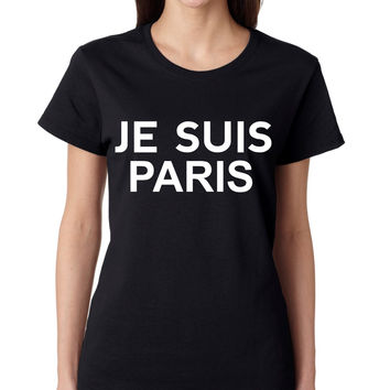 JE SUIS PARIS women T-Shirts
