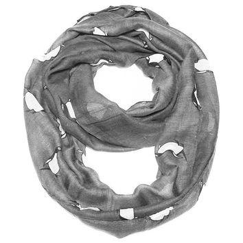 5 Colors - Super Cute Penguin Infinity Scarf