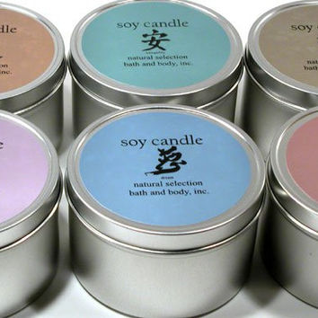 8 oz Zen Soy Candle Clarity