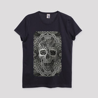 Lace Skull Men's T-Shirt