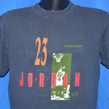 DCKL9 1988 Nike Michael Air Jordan Defensive Player of the Year t-shirt Large