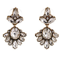 Stylish Vintage Diamonds Earring Accessory [6043447681]