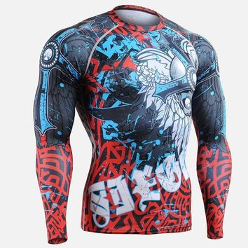 2017 hunting t shirt base layer men brand thanks giving day printing shirts long sleeve sports clothing sublimation cloth