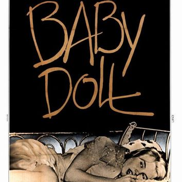 Baby Doll (French) 11x17 Movie Poster (1956)