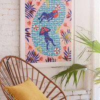 Camilla Perkins Paradise Art Print - Urban Outfitters