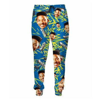 Summer Style So Fresh Will Smith Prince Sweatpants Men/Women Hip Hop Fashion 3D Printed Trousers Joggers Casual Pants
