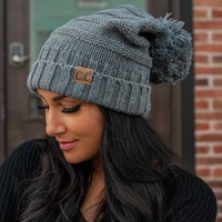 Cold Spell Beanie - Grey