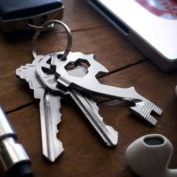 The MSTR KEY 20-in-1 Multi-Tool Keytool