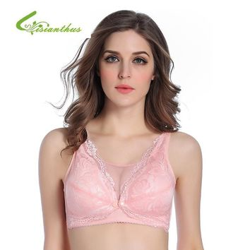 Sexy Breastfeeding Maternity Bra Nursing Bras for Pregnant Women Front Opening Pregnancy Wire Free Sleep Bra Underwear Clothing