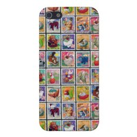 Cute Japan Year of Animal Stamp Pattern Cover For iPhone 5 from Zazzle.com