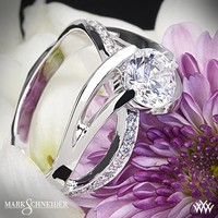 14k White Gold Mark Schneider Kismet Diamond Engagement Ring