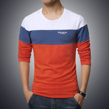 Hot Trend Mens Long Sleeve T-shirt
