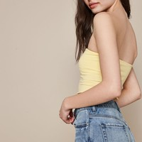 PS Basics by Pacsun Lettuce Edge Tube Top at PacSun.com
