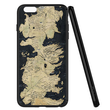 Westeros Map iPhone 6 | 6S Case Planetscase.com