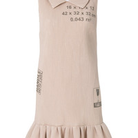 Moschino Handle With Care Ribbed Dress - Farfetch