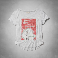 Grinch Christmas Graphic Tee