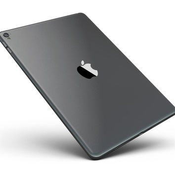 "Solid Dark Gray Full Body Skin for the iPad Pro (12.9"" or 9.7"" available)"