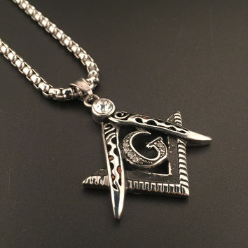 New Arrival Jewelry Stylish Shiny Gift Hot Sale Fashion Hip-hop Club Necklace [6542760451]