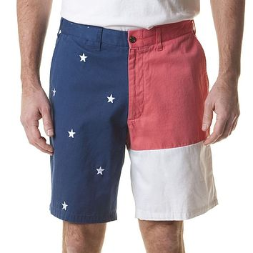 Flag Panel Cisco Short by Castaway Clothing