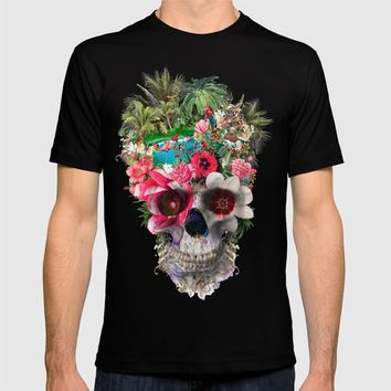 Summer Skull IV T-shirt by RIZA PEKER