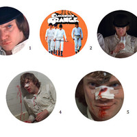 "A Clockwork Orange 1"" Pins"