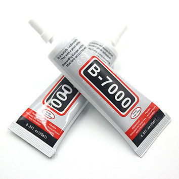 1 PCS Rhinestone Glue B7000 25ML Epoxy Resin Super Glue Sealant For Jewelry Rhinestone Glass Mobile B-7000 Uv Glue Gun