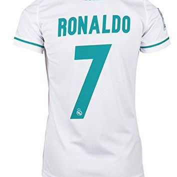 #7 Ronaldo Real Madrid Home Kid Soccer Jersey & Matching Shorts Set 2017-18