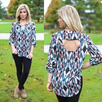 Tribal Tryst Blouse