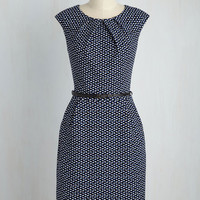 Teaching Classy Dress in Parallelograms | Mod Retro Vintage Dresses | ModCloth.com