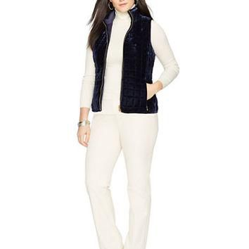 Lauren Ralph Lauren Plus Reversible Quilted Vest