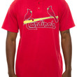 The St Louis Cardinals Baseball Tee in Red
