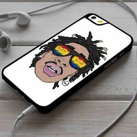 Wiz Khalifa Head iPhone 4/4s 5 5s 5c 6 6plus 7 Case