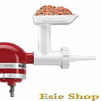 KitchenAid Sausage Making Kit Attachment Expand Food Grinder Mixer Meat Kitchen