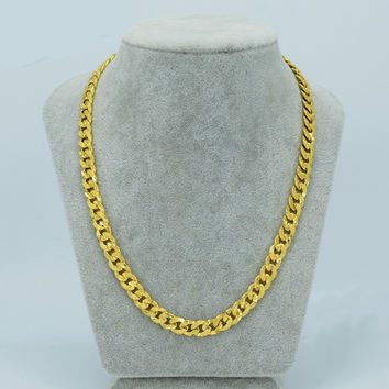 African Thick Chain Necklace - Available in Various Sizes