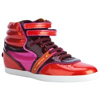 Sergio Rossi 'Paprika' High Top Trainer