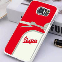 My Vespa From Italy With Love Red Samsung Galaxy S7 Edge Case  Sintawaty.com